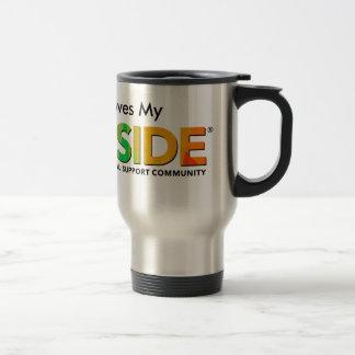 PRIDESIDE® Stainless Steel 15 oz Travel Mug