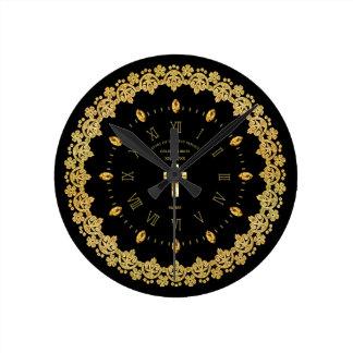 Priest 50th Golden Jubilee Ordained Anniversary Round Clock