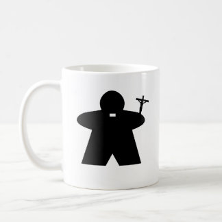 Priest and Nun Meeple mug