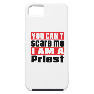 Priest can't scare designs iPhone 5 case