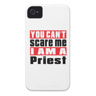 Priest can't scare designs iPhone 4 Case-Mate case