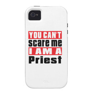 Priest can't scare designs iPhone 4 covers
