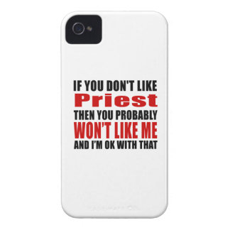 Priest Don't Like Designs iPhone 4 Covers