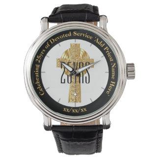 Priest Gift Ordination Anniversary Commemorative Watch