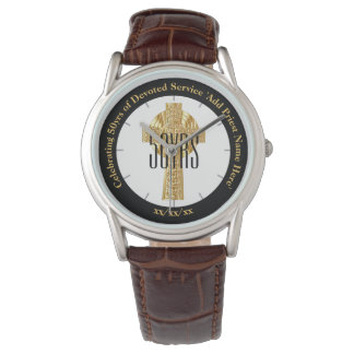 Priest Gift Ordination Anniversary Personalized Watch