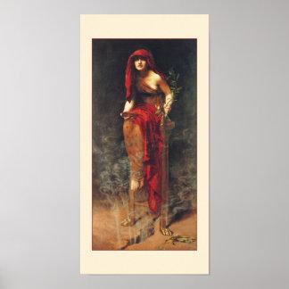 Priestess of Delphi Poster