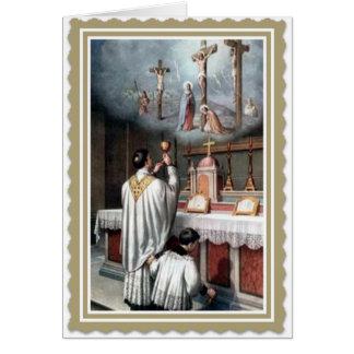 Priesthood Anniversary  Ordination Jesus Card