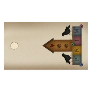 Prim Birdhouse Hang Tag Pack Of Standard Business Cards