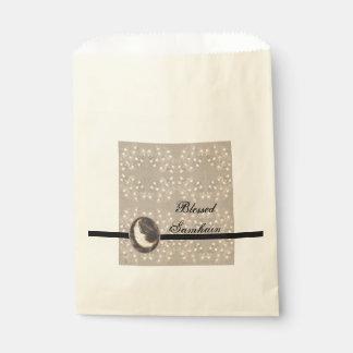 Prim Moon and Stars Samhain Favour Bag