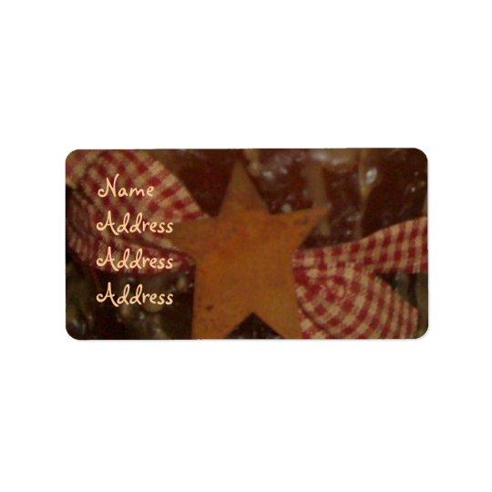 Prim/Star Candle Address Labels