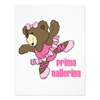 Prima Ballerina Bear Dark Announcement