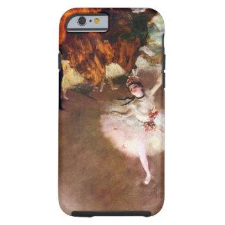 Prima Ballerina by Edgar Degas, Vintage Ballet Art Tough iPhone 6 Case