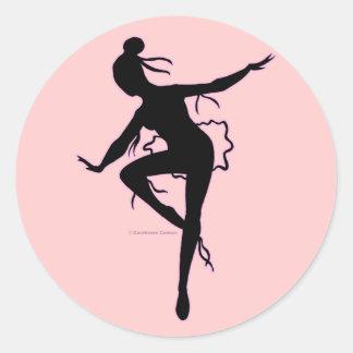 Prima Ballerina Silhouette Sticker