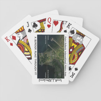 PRIMA POINT ROBERTS INTERNATIONAL METRO AREA PLAYING CARDS