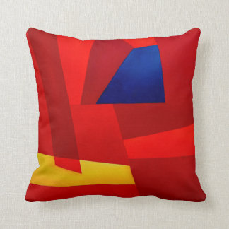 Primary Colors, Abstract Pillow