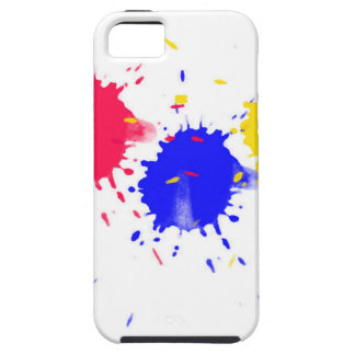 Primary Colors Splash iPhone 5 Covers