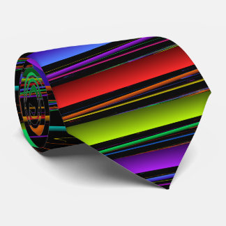 Primary Colors Striped Tie