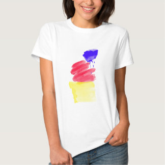 Primary Colors Watercolor T Shirts