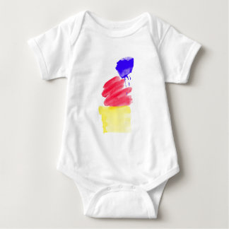 Primary Colors Watercolor Shirt