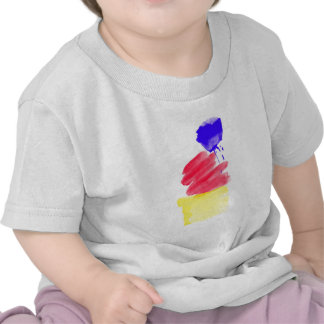 Primary Colors Watercolor Shirts