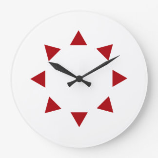 Primary InterCardinal Directions:  compass rose Large Clock