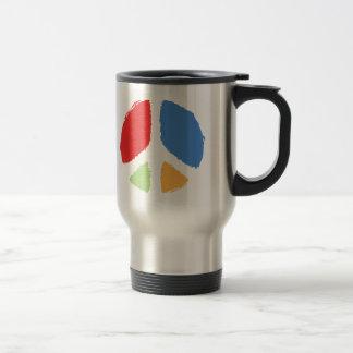 Primary Peace Stainless Steel Travel Mug