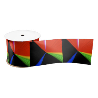 Primary Point Wide Satin Ribbon by Janz