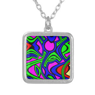 Primary Silver Plated Necklace