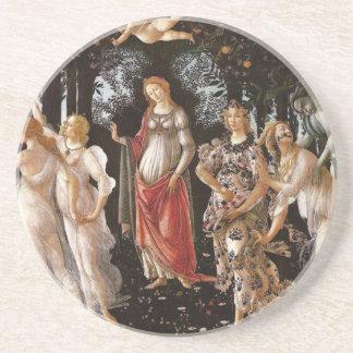 Primavera, Botticelli Sandstone Coaster
