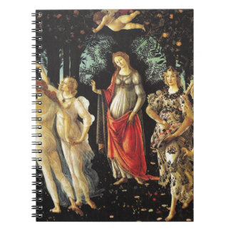 Primavera by Sandro Botticelli Notebooks