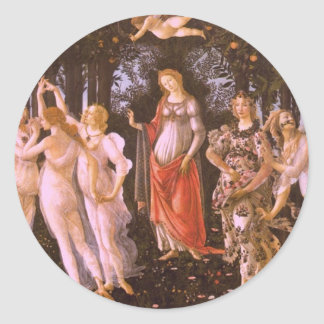 Primavera Classic Round Sticker
