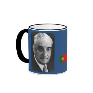 Prime Minister Antonio Salazar of Portugal Ringer Mug