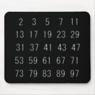 Prime Numbers Mathematics Mathematician Mouse Pad