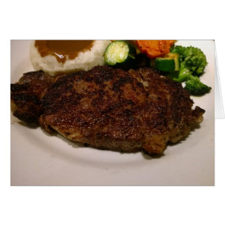 Prime Rib Steak Dinner Card