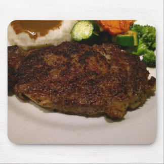 Prime Rib Steak Dinner Mouse Pad