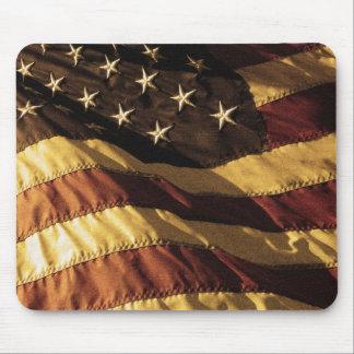 Primitive American Flag Mousepad