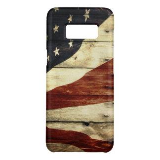 Primitive Americana woodgrain American Flag Case-Mate Samsung Galaxy S8 Case