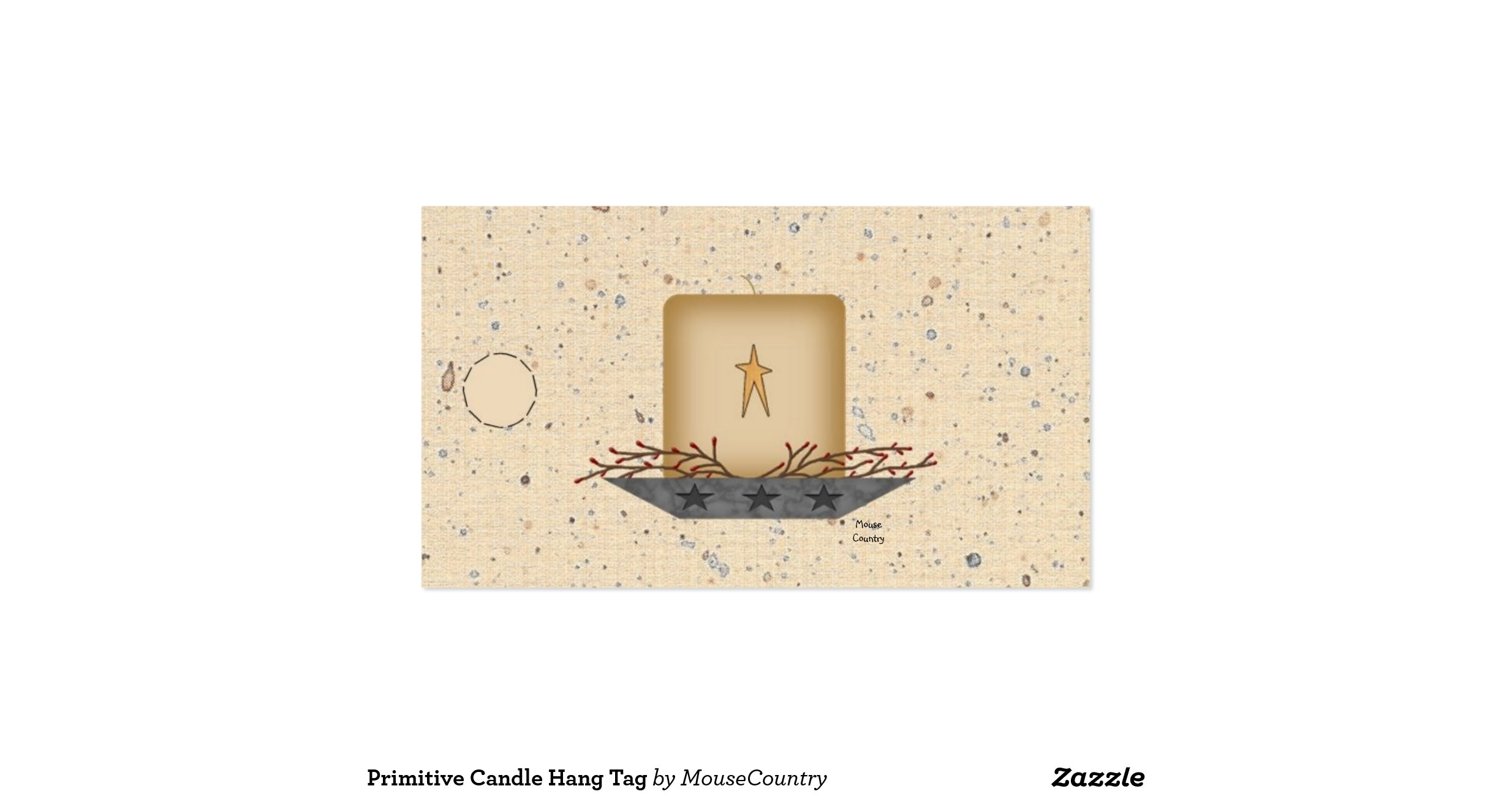 2 x 35 business card template business card sample primitive candle hang tag pack of standard business cards zazzle colourmoves