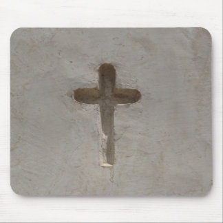 Primitive Christian Cross customize favorite Bible Mouse Pad