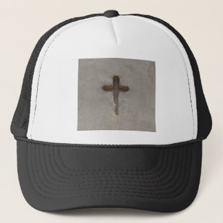 Primitive Christian Cross customize favorite Bible Trucker Hat