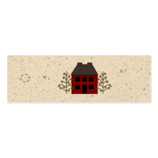 Primitive House Skinny Hang Tag Business Card