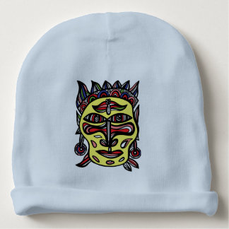 """Primitive Mask"" Baby Cotton Beanie Baby Beanie"