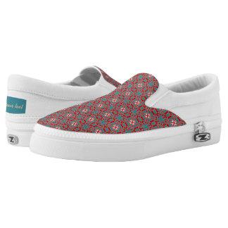 Primitive Pattern Printed Shoes