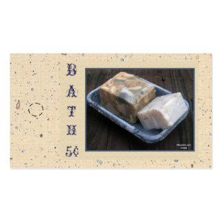 Primitive Soaps Hang Tag Pack Of Standard Business Cards
