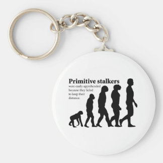 Primitive Stalkers Basic Round Button Key Ring