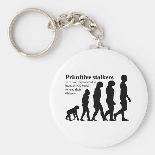 Primitive Stalkers Keychain