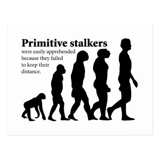 Primitive Stalkers Post Cards