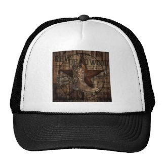 Primitive Star Grunge Western Country Cowboy Cap