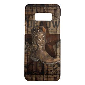 Primitive Star Grunge Western Country Cowboy Case-Mate Samsung Galaxy S8 Case