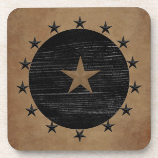 Primitive Stars Cork Coaster
